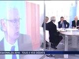 Débat des têtes de listes - régionales Rhône-Alpes 2010