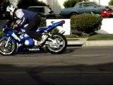 chutes et cascades de motos
