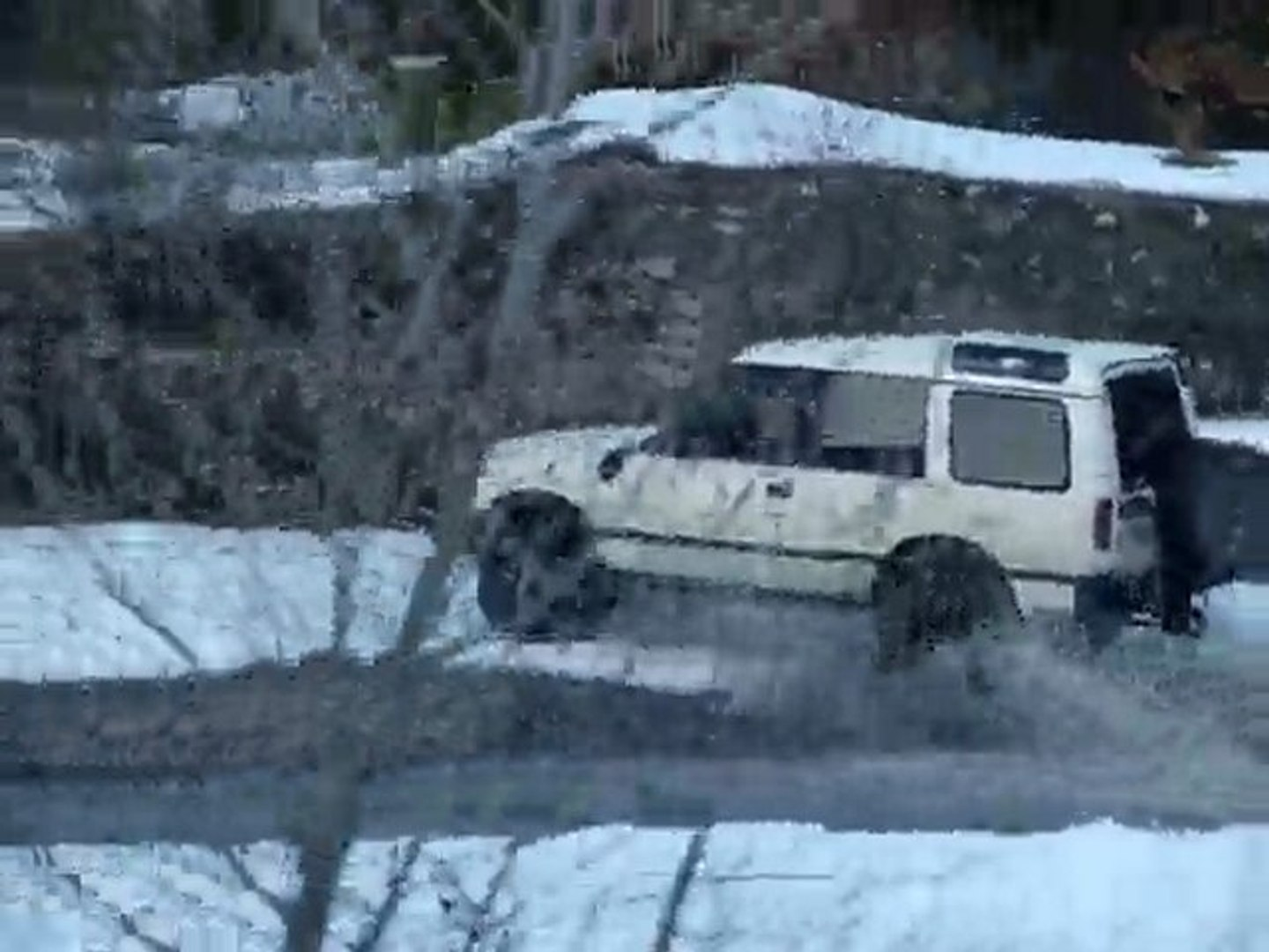 4x4 discovery a l'action