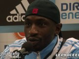 Interview de Mamadou Niang apres le match Marseille -Nancy !