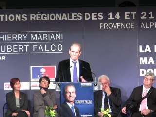 Régionales : Discours d'Hubert Falco au meeting du Pradet