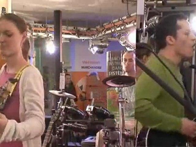 Borea en showcase chez Total Music