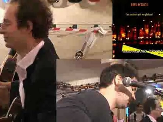 Fred Perriot en showcase chez Total Music