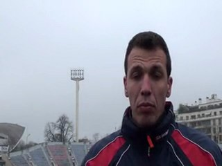 Rugby club de la Marine Nationale -Interview Alexandre Rossi