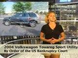 Internet  Only  Auction  2004  VW  Sport  Utility  car  ...