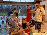 Morlaix. 24 benjamins du Finistère en stage de natation