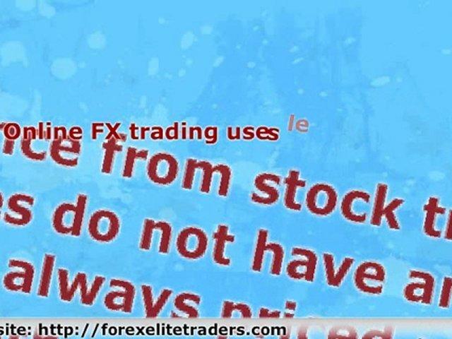 Online FX Trading For Beginners