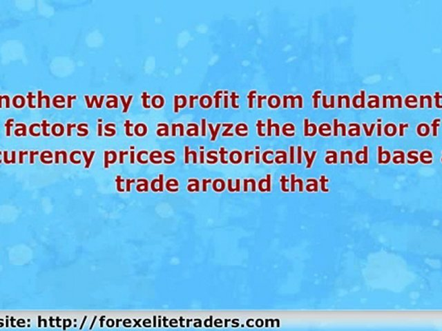 Currency Trading Education: Fundamental Indicators