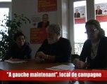 A gauche maintenant en Languedoc Roussillon