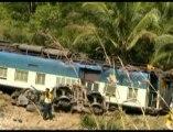 Passenger Train Derails in Songkhla, Thailand