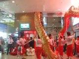 Nouvel an Chinois Danse du dragon à Singapour
