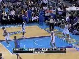 Jameer Nelson throws a wonderful pass to Dwight Howard, who