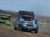 4L Trophy 2010 - Journée ordinaire d'une 4L dans le désert