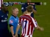 Aaron Ramsey Leg Break Tackle By Shawcross