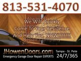 Garage Door Repair In Tampa