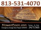 Garage Door Repairs In Tampa FL