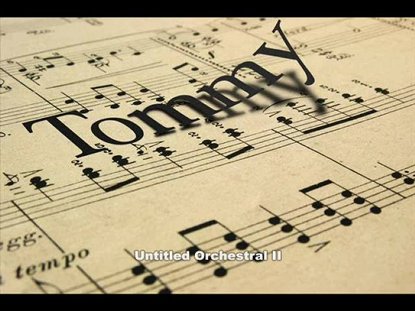 Orchestral music composed by 18-year old kid