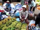 Au marché à Battambang, Cambodge