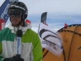 Kite The Cornice at Snowkite Masters