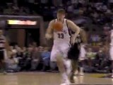 Marc Gasol steals the pass and finishes with a slam during t