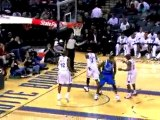 Dirk Nowitzki scores 27 points and grabs 13 rebounds to knoc