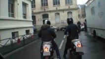Course de scooter entre Mickaël Youn et Toph - L'émission sans interdit Mikl