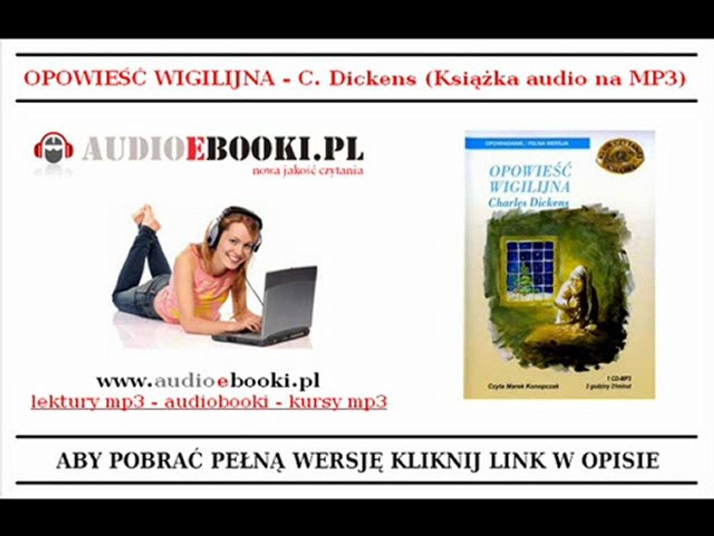 OPOWIEŚĆ WIGILIJNA - Dickens (Audiobook Mp3) - BAJKI MP3