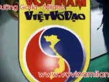 Vovinam Viet Vo Dao - Don Chan Tan Cong n° 2 e n° 3 in comba