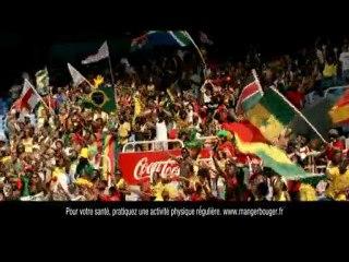 Publicité Coca-Cola - Coupe du Monde Football 2010