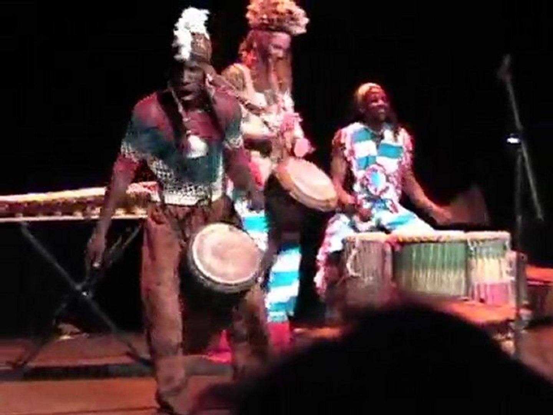 Solo djembe d'Ibrahim Sanogo