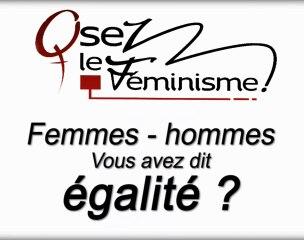 8 mars manifestation pour l'égalité femme-homme