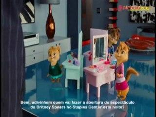 Britney Spears mencionada no filme 'Alvin e os Esquilos 2'