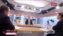 FACE A NOUS,Bruno Le Maire, Ministre de l'agriculture, tête de liste UMP en Haute Normandie