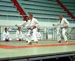 Kata de groupe Jion, Karate Shotokan Ohshima CEST Tours