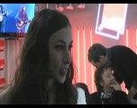 Victoires de la musique2010: Olivia Ruiz (coulisses)