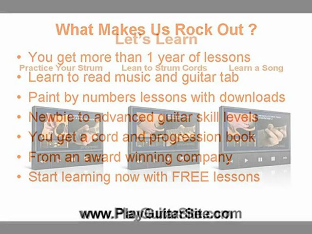 Beginning Guitar Lessons and Advanced Guitar Lessons to Liv