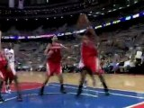 Aaron Brooks hits Jordan Hill with a sweet pass around Jonas