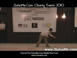 Popping and Locking performance at isalsame.com Charity