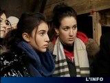 Des lycéens sarthois visitent le Camp d'Auschwitz