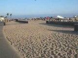Kyle Reid long board HB Pier California Kyle Reid