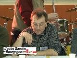 CHRISTOPHE GENTAZ MEETING L'AUTRE GAUCHE EN BOURGOGNE