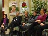 Régionales en Franche-Comté avec Marie-Guite Dufay