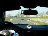Circuit Le Vigeant (Val de Vienne) poursuite Porsche 996 gt3