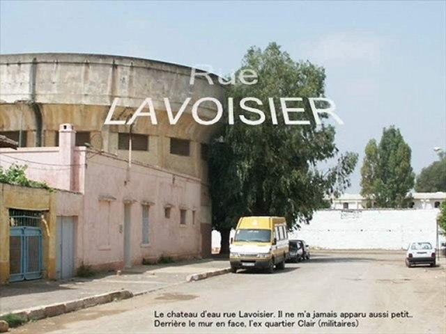 Les rues du Quartier Industriel de Meknès