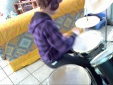 Drum cover - Banquet - Bloc party ( partielle )