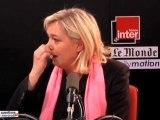 Débat sur le bobo et les femmes, Marine Le Pen