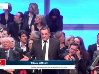 Régionales : Discours de Thierry Mariani au Dôme