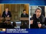 Video Nicolas Sarkozy balaie la rumeur avec Carla Sarkosy