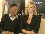 Charlize Theron and Will Smith in Japan