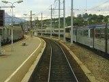 A bord d'un X 73500. Chambéry/La rotonde.